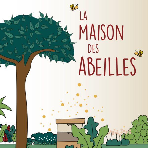 La maison des abeilles livre enfant papier recycle ecologique