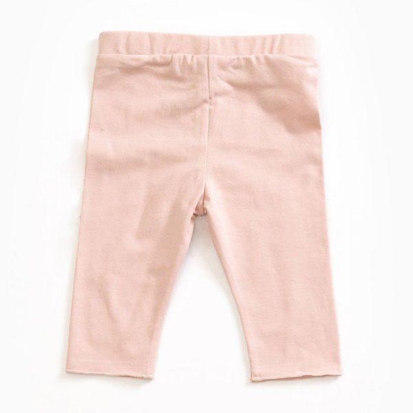 Saison des Abeilles Vetements enfants Habillement bebe coton biologique - fille - bebe- leggings rose