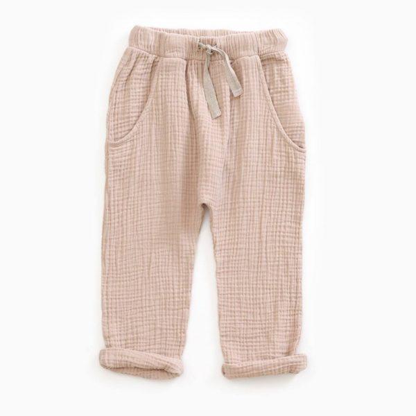 Saison des Abeilles Vetements enfants Habillement bebe coton biologique - garçon - pantalon beige