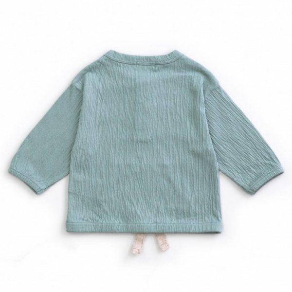 Saison des Abeilles Vetements enfants Habillement bebe coton biologique - garcon - bebe -sweat vert