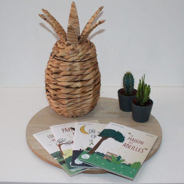 Saison des Abeilles- livre-recycle-papier-ecologique-histoire