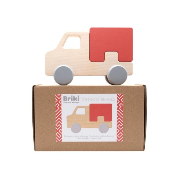 Saison-des-abeilles-Jouet-ecologique-en-bois-bebe-enfant-puzzle-voiture-camion-rouge-2.