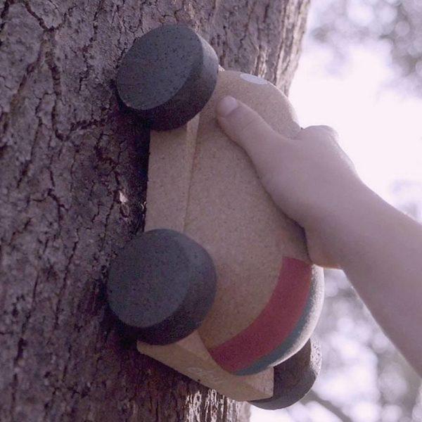 Saison des abeilles Jouets en bois liege Elou cork puzzle