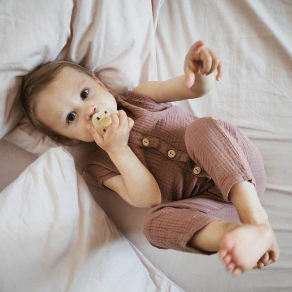 Saison des abeilles - vetements enfant - coton bio -combinaison bebe (2)
