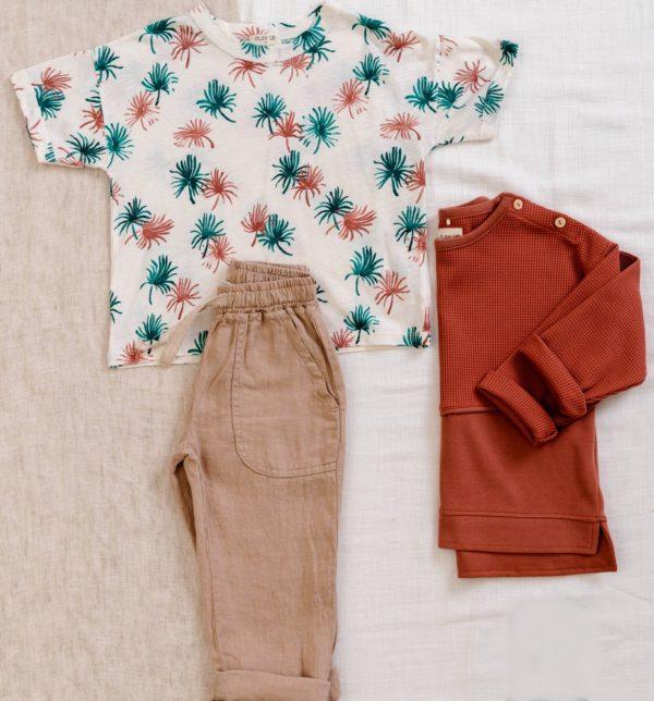 Saison des abeilles vetements enfant coton bio t-shirt motifs pantalon
