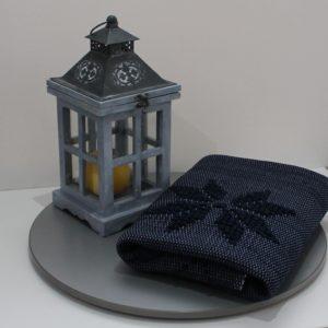 tapis-eco-responsable-fait main-made in europe-recyclé-bleu